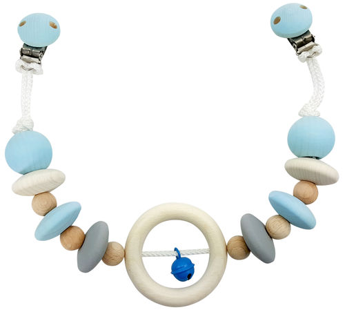 Wagenkette nature blue